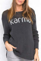 Wooden Ships Karma Crew Neck Top