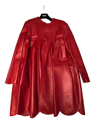 Valentino Red Leather Coats