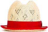 DSQUARED2 Panama hat - women - Cotton/Viscose/Straw - S