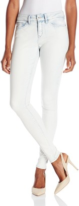 Yummie by Heather Thomson Women's Modern Mid Rise Slimming Super Skinny Jeans