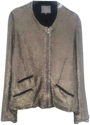 IRO \N Gold Glitter Jackets
