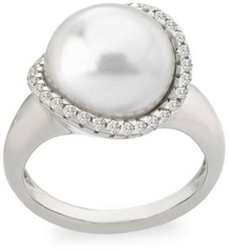 Majorica Rosa Sterling Silver & Imitation Pearl Ring
