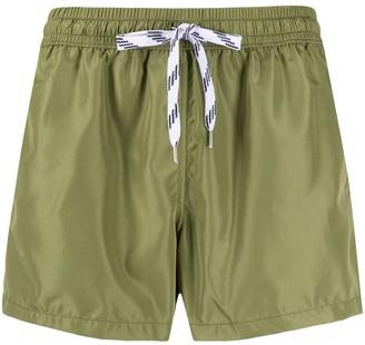 Nos Beachwear Drawstring Swim Shorts