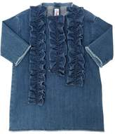 Il Gufo Stretch Cotton Denim Dress