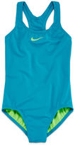 Nike Solid Swimsuit - Girls 7-16