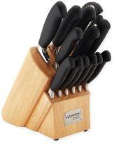 Hampton Forge Argentum Soft Grip 14-Piece Knife Block Set
