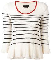 Isabel Marant striped top - women - Cotton/Polyamide - 38
