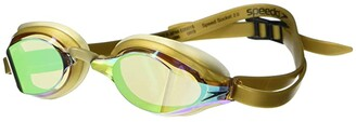 Speedo Speed Socket 2.0 Mirrored (Gold/Amber/Gold Mirrored) Water Goggles
