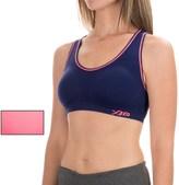XOXO Seamless Keyhole Sports Bras - Removable Padding, Medium Impact, 2-Pack (For Women)
