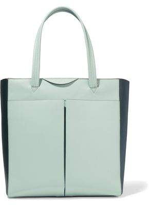 Anya Hindmarch Nevis Two-tone Leather Tote