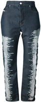Diesel - jean à patchs - women -