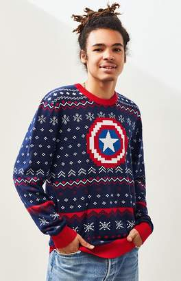 Captain America Holiday Sweater