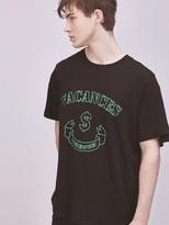 Print Vacances T-shirt Black