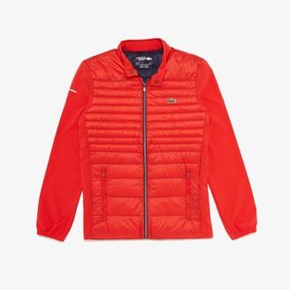 Lacoste Men's SPORT Lightweight Water-Resistant Quilted Jacket