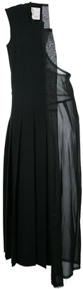 Comme Des Garçons Pre-Owned Laser Cut One-Shoulder Dress