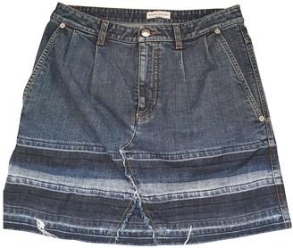 Sonia Rykiel Blue Denim - Jeans Skirt for Women