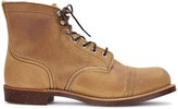 Red Wing Shoes Iron Ranger Tawny Brushed Suede Boots