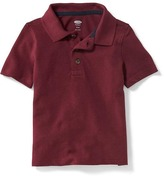 Old Navy Uniform Pique Polo for Toddler Boys
