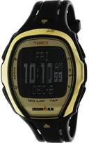 Timex Ironman Sleek TW5M05900 Gold Resin Quartz Diving Watch