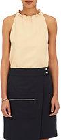 Nomia Women's Plain-Weave Drawstring-Neck Top