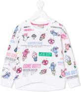 Kenzo cartoon print sweatshirt