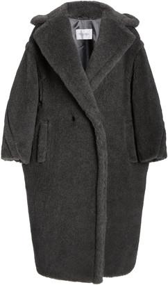 Max Mara Oversized Wool-Alpca Blend Teddy Coat