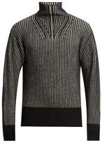Tomas Maier Zip-through wool sweater