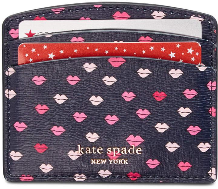Kate Spade Sylvia Lip Card Holder