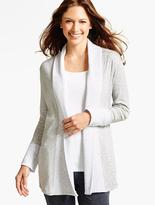 Talbots Shawl-Collar Cardigan