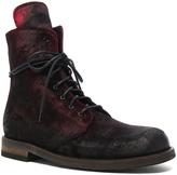 Ann Demeulemeester Velvet Boots