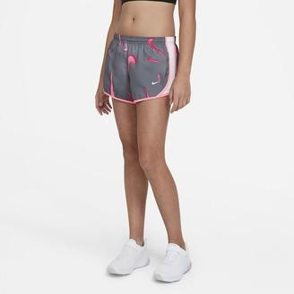 Nike Big Kids' (Girls') Swoosh Training Shorts Dri-FIT Tempo