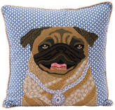 Karma Living Pug Pillow