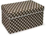 Badger Basket Company Double Folding Storage Seat, Brown by