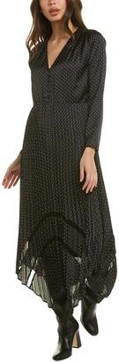The Kooples Tete Depingle Maxi Dress