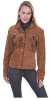 Scully Women's Beaded Jacket with Fringe L152