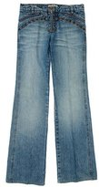 Roberto Cavalli Stud-Accented Wide-Leg Jeans