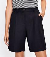LOFT Bermuda Shorts In Linen Blend 00 – 18