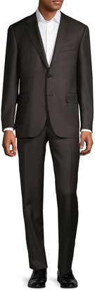Canali Slim-Fit Textured Wool Suit