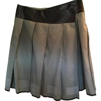Prada Green Cotton Skirt for Women Vintage