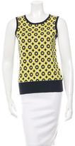 Tory Burch Silk Sleeveless Sweatshirt