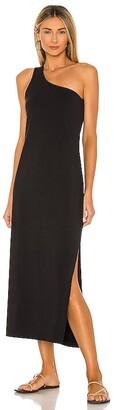 Seafolly One Shoulder Jersey Midi Dress