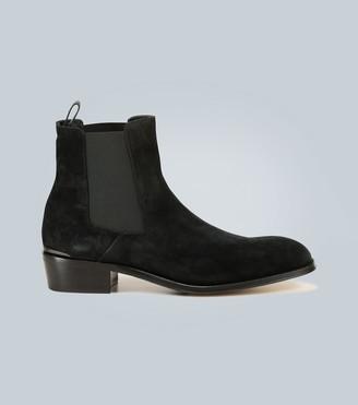 Alexander McQueen Suede chelsea boots
