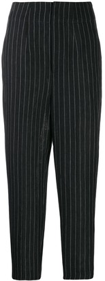 Enfold Pinstripe Tapered Trousers