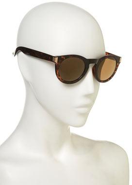 Topshop Round Metal Trim Sunglasses