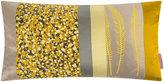 Clarissa Hulse Garland Patchwork Bed Cushion - 30x50cm - Mustard