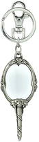 Monogram Beauty and the Beast Mirror Pewter Key Ring