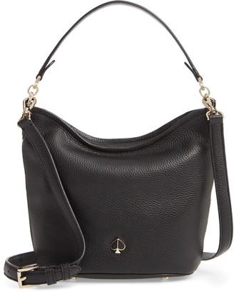 Kate Spade Small Polly Leather Hobo Bag