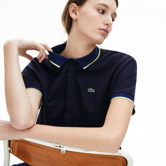 Lacoste Women's Relaxed Fit Cotton Polo