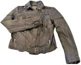 Muu Baa Muubaa Black Leather Leather Jacket for Women
