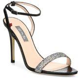 Sarah Jessica Parker Giddy Glitter Ankle-Strap Pumps